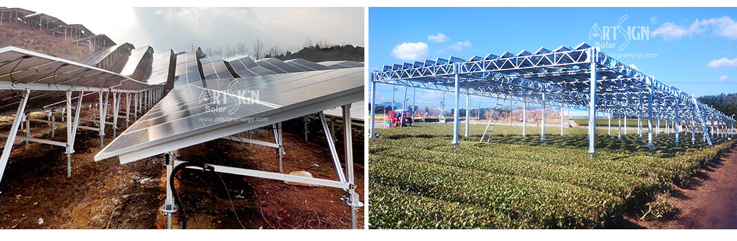 Alumium Ground systems and steel galvanized farm systems cases