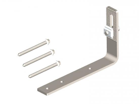 Solar stainless steel roof hook